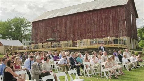 Beautiful Barn Wedding in Wisconsin   Over The Vines   YouTube