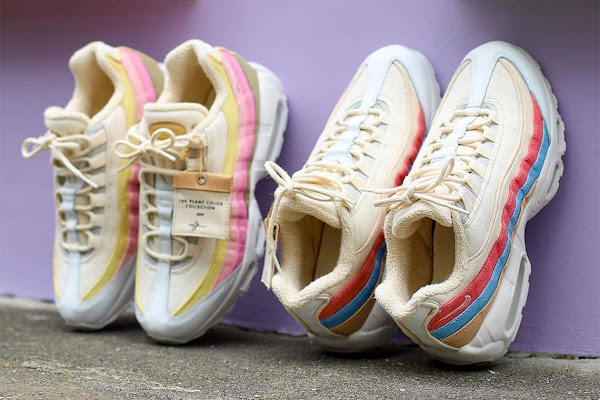 "6151ed6d20f The Nike Air Max 95 ""Plant Color"" Collection Is Hitting Stores Now"