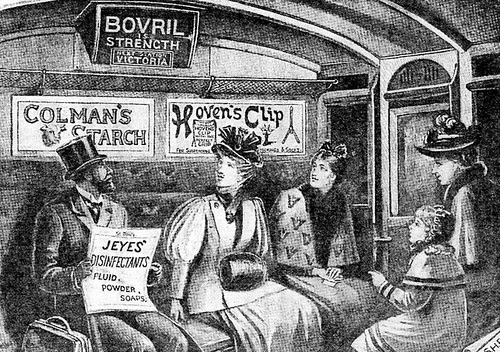 sub railway first class - London Transport Museum