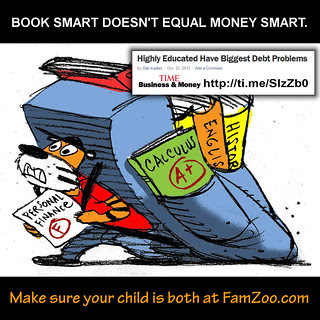 Book Smart Doesn't Equal MoneySmart