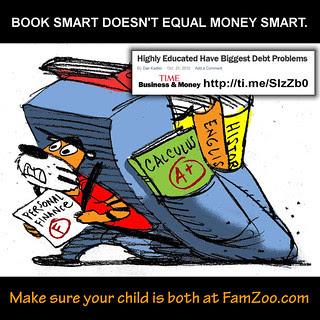 Book Smart Doesn't Equal MoneySmart