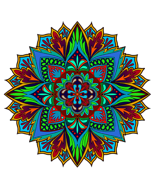 Mandalas To Color Volume 1 Digital Download Version Colorit