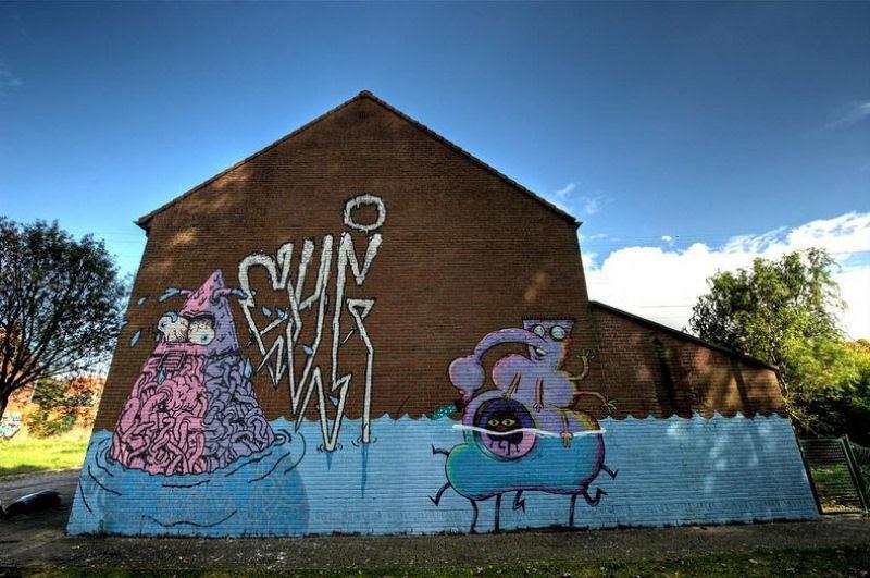 A vila condenada de Doel e sua arte de rua surpreendente 03