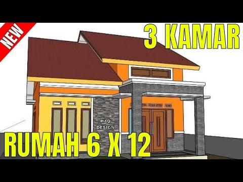 ketahui desain rumah minimalis sederhana 6 x 12 meter 3