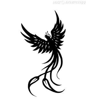 Tribal Phoenix Tattoo Tattoomagz