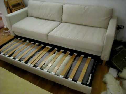 Ikea Sofa Bed - YouTube