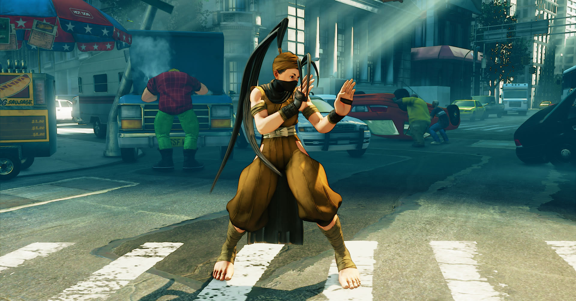 Nostalgia DLC heading to Street Fighter V screenshot