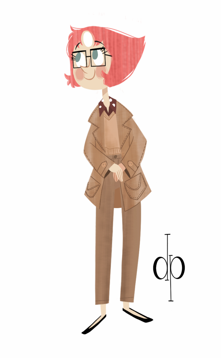 Oh my pearl!!!! (๑•́ ₃ •̀๑) Basated on this outfit