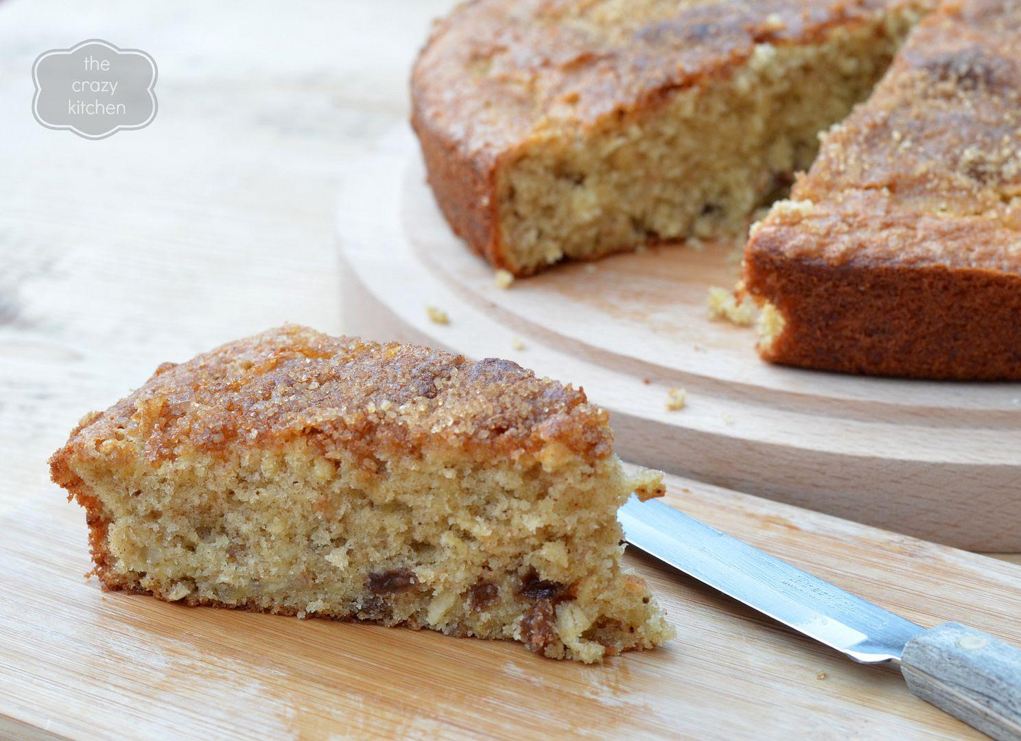 Spiced Muesli Cake