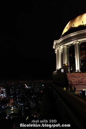 bangkok night from sirocco bar