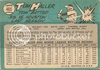 #465 Tom Haller (back)