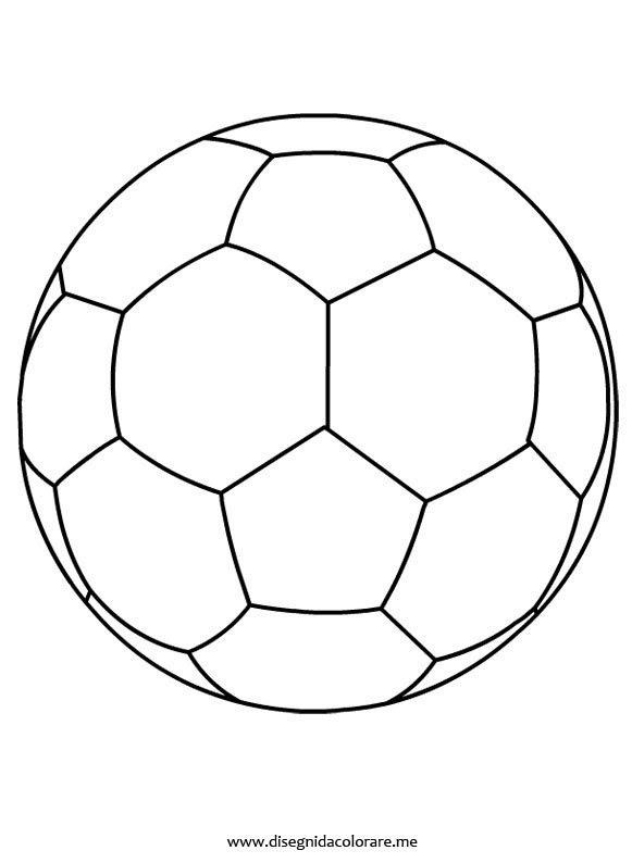 Disegno Pallone Di Calcio Da Colorare