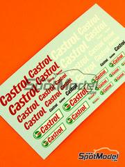 Virages: Calcas escala 1/24 - Castrol logos
