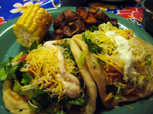 Puffy Tacos at Elote - Tulsa, Oklahoma