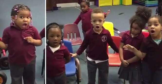 """Vídeo fofo: crianças tentam, mas falham no """"Desafio do Manequim"""""""