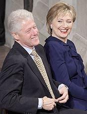 Bill Clinton e a mulher, Hillary, aparecem na lista dos mais poderosos