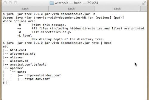 WizTools.org tree-v0.1.0