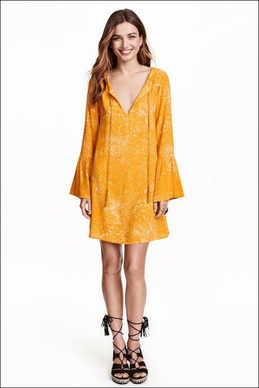 Le Fashion Blog Yellow Sundress H&M Sale Via H photo Le-Fashion-Blog-Yellow-Sundress-HampM-Sale-Via-HM.jpg