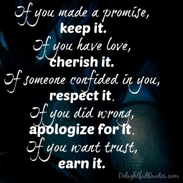 If You Have Love Cherish It Delightful Quotes