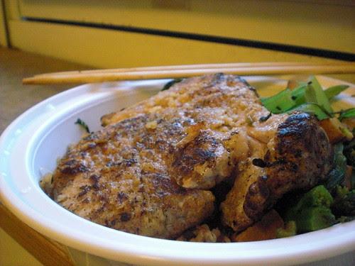 Homemade Taiwanese pork chop