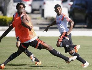Marcio Araujo treino Flamengo (Foto: Gilvan de Souza/Fla Imagem)