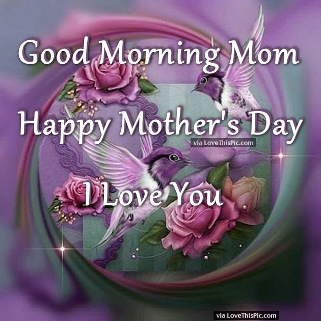 Good Morning Mom Happy Mothers Day I Love You Pictures Photos And