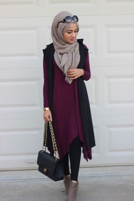 78 Magnifiques Id es de Hijab Fashion Porter Tous Les