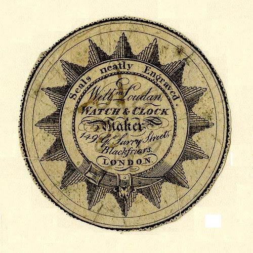 Watch-paper of Loudan, London (maybe 1825-1840)