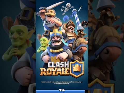 Taç İçin Savaştım - Clash Royale