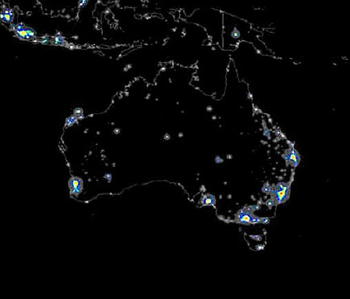 Map of Oz by Night