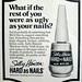 Seventeen Magazine, Oct 1972 - ugly nails