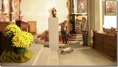 Cornelia und Andrea Capella - der Altar