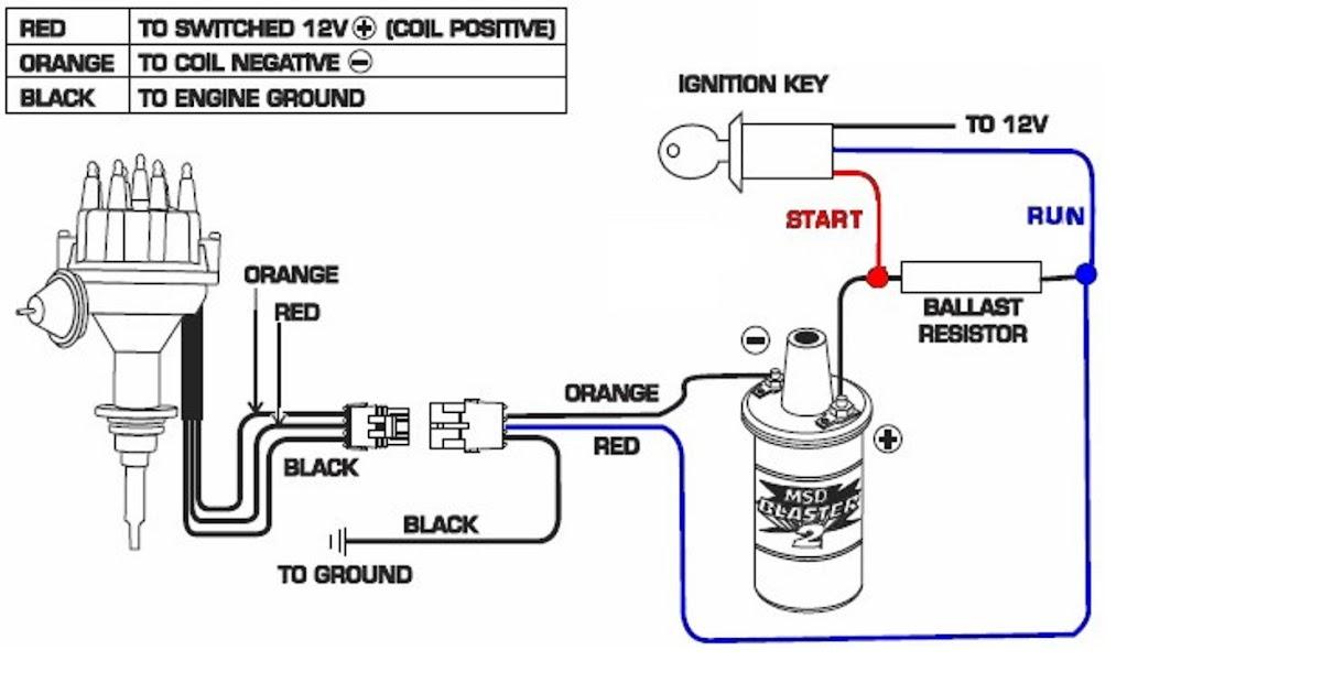 Ford Ballast Resistor Wiring Diagram