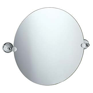 Gatco 5768 - Franciscan Bathroom Mirror - Round (Polished Chrome ...
