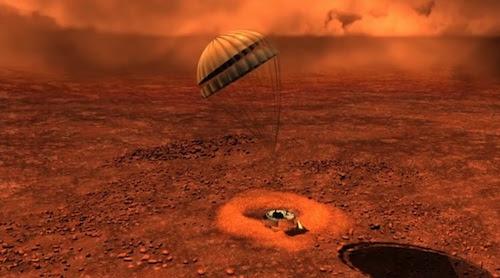 Menginjakkan Kaki Di Titan Satelit Saturnus
