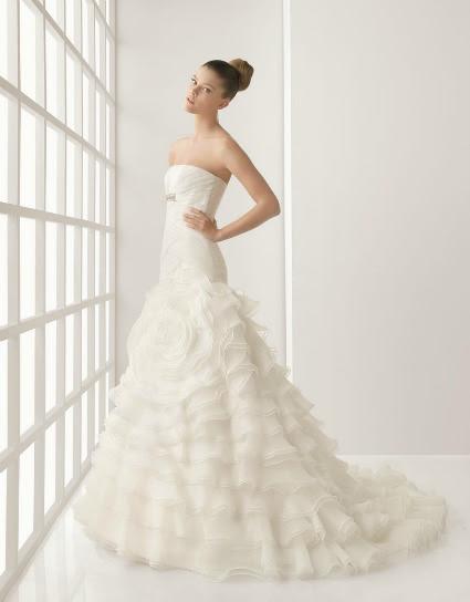 281025 rosaclara saia tule menos volume Vestidos de noiva com tule: tendências e modelos