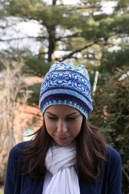 Winter Snowflake Hat