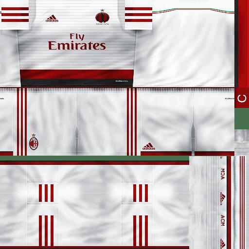 PES 6 : AC Milan Kit 2014/2015 By Bobby24 ~ Sofyan Aghfar