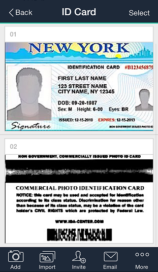 Easily Make A Copy Of An Id Card Or Driver License With Camscanner