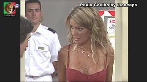 Paula Coelho sensual na Maré alta