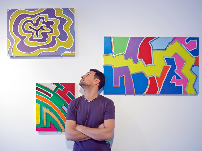 Retrospettiva di Luca Moretto al Woland Art Club di Portopiccolo. (Ph. Mirco Basso)