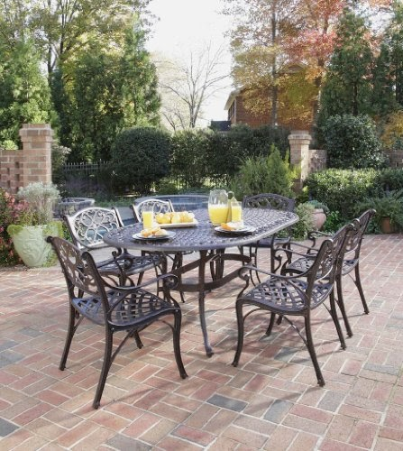 Clearance Dining Sets: Patio Sets Clearance: Home Styles 5555-338 Biscayne 7