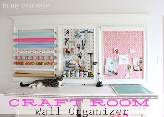 Creaft room Organizing Ideas