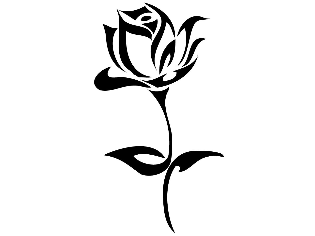 Free Tribal Flowers Tattoo Designs Download Free Clip Art Free