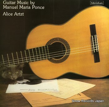 ARTZT, ALICE guitar music by manuel maria ponce
