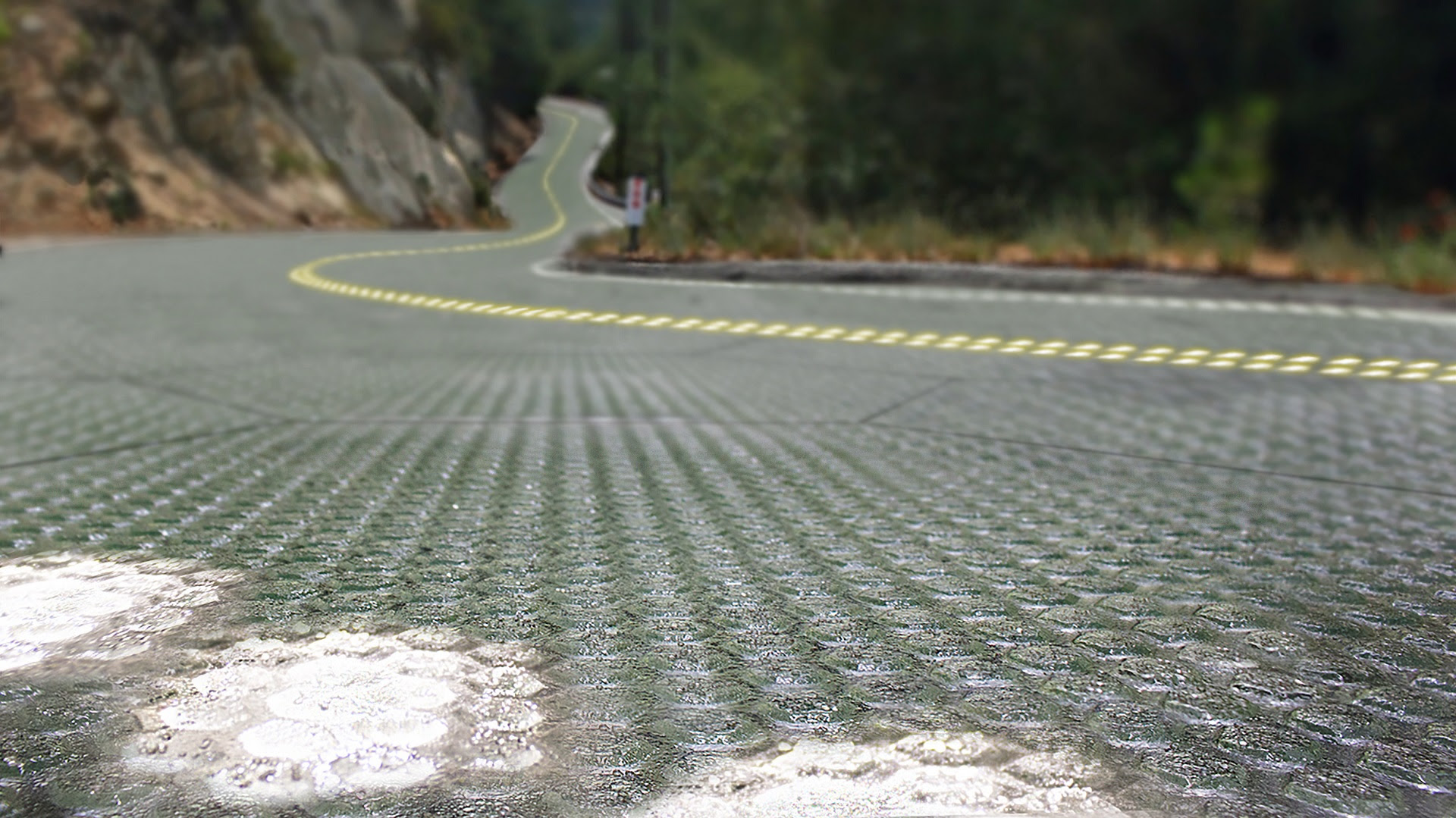Route 66 could become a giant solar panel