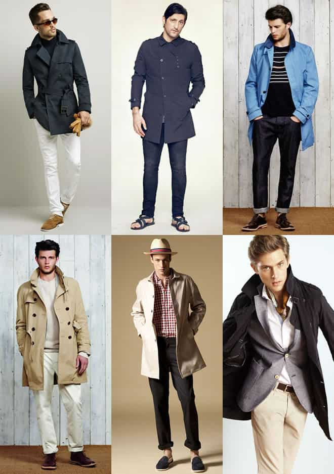 Men's Mac and Trench Coat Lookbook