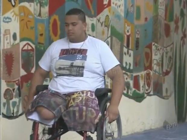 Acesso de pessoas com deficiência as salas de votação é garantido por lei (Foto: Reprodução/ EPTV)
