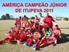 América é o campeão da 11ª edição do Campeonato junior de futebol de Itupeva