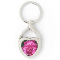 Peony Pretty Pink Key Chain
